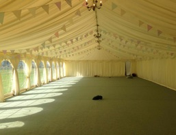 shabby-chic-bunting, marquee-hire-north-west