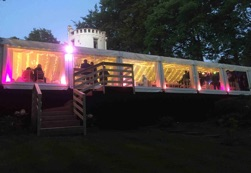 wedding-marquee-hire, marquee-lighting, panaramic-marquee
