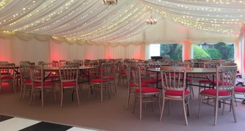 marquee-lighting, marquee-hire-cheshire, pealights-cheshire
