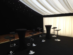 marquee ivory lining, marquee starlight lining, marquee hire manchester, party marquee hire